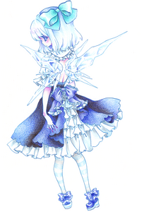 frilly cirno